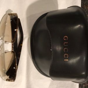 Gucci Sunglasses and Gucci Case